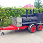 Смокер-гриль на колесах Флагман